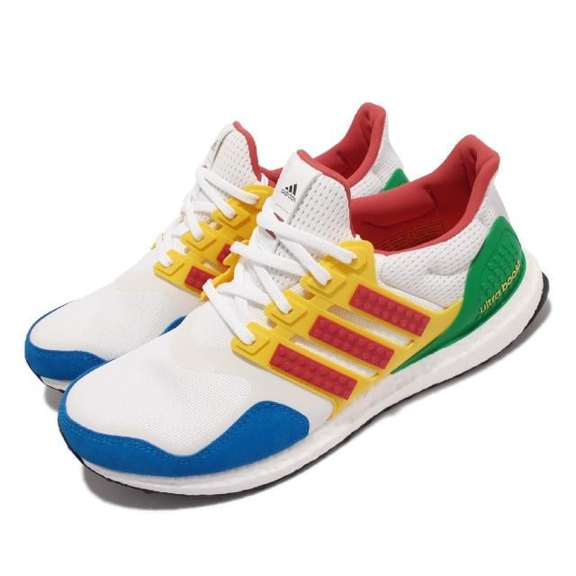 【adidas 愛迪達】慢跑鞋 Ultraboost DNA 運動 男女鞋 愛迪達 LEGO聯名 反光 襪套 情侶款 彩(FZ3983)
