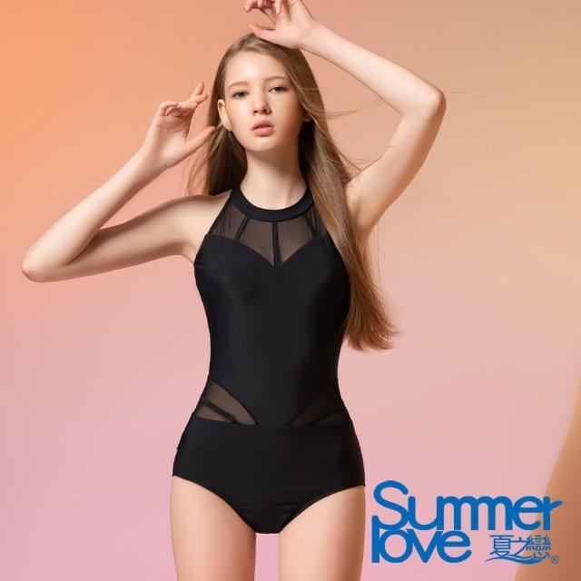 【Summer Love 夏之戀】泳裝 大女連身三角泳衣(E21707)