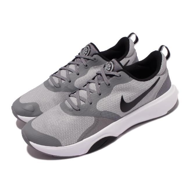 【NIKE 耐吉】訓練鞋 City Rep TR 運動 男鞋 健身房 輕量 舒適 避震 球鞋 穿搭 灰 白(DA1352-003)