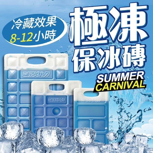 【Dodo house 嘟嘟屋】極凍保冰磚-370g(保冰/保冷劑/冷凍/保鮮)