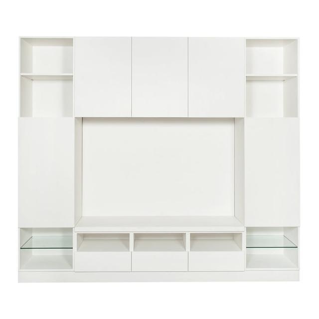【Arkhouse】伯利恆系列-客廳羽量級收納電視高櫃W250*H218*D50
