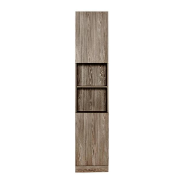 【Arkhouse】伯利恆系列-書房二門六格左開門1.5尺單高櫃W45*H218*D35