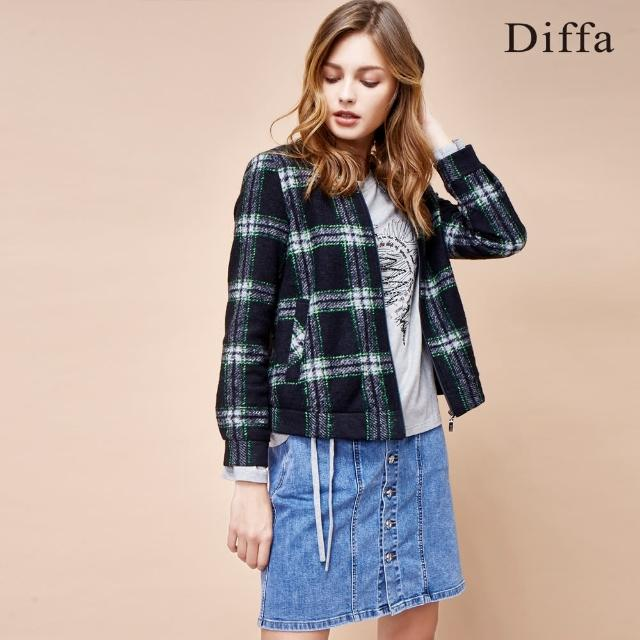 【Diffa】純棉牛仔短裙