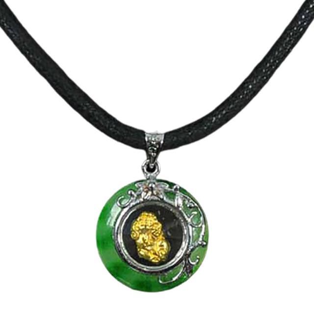 【十方佛教文物】時來運轉{☆貅}玉環項鍊