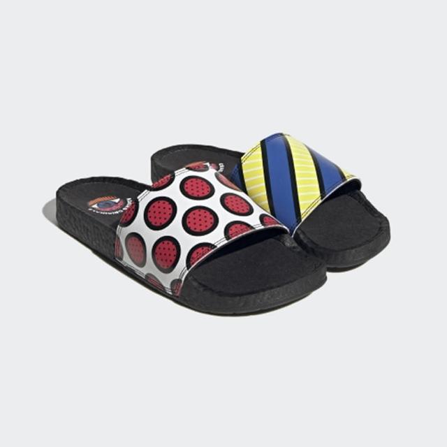 【adidas 愛迪達】涼拖鞋 男款 拖鞋 緩震 ADILETTE BOOST 多色 GY5351
