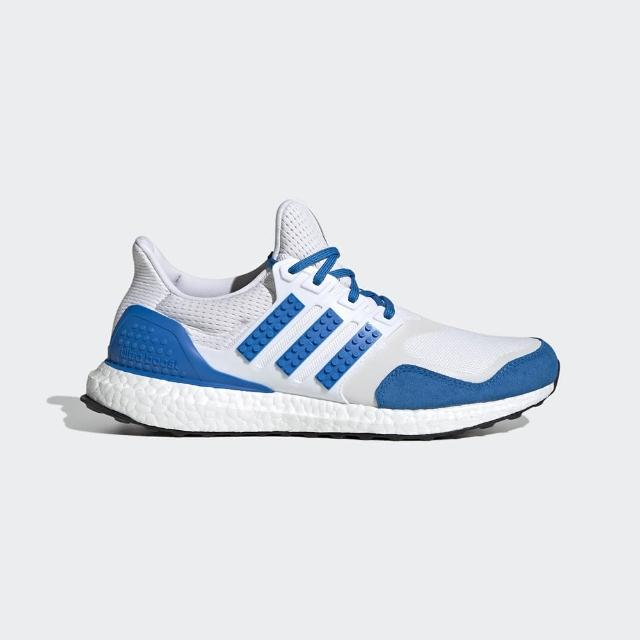 【adidas 愛迪達】慢跑鞋 男款 運動 健身 樂高 ULTRABOOST DNA X LEGO COLORS 藍白 H67952