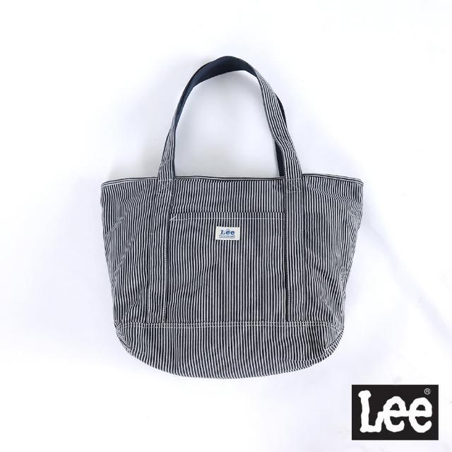【Lee】氣質條紋 肩背袋 側肩包