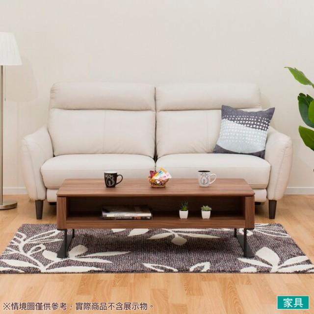 【NITORI 宜得利家居】◎半皮3人用電動可躺式沙發 ANHELO LGY(沙發 電動沙發)