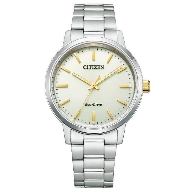【CITIZEN 星辰】經典簡約光動能腕錶(BJ6541-58P)