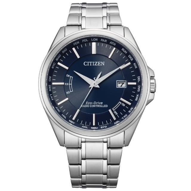 【CITIZEN 星辰】紳士必備電波光動能腕錶(CB0250-84L)