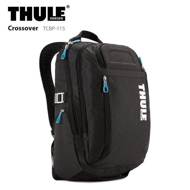 【Thule 都樂】21L 後背包 TCBP-115 電腦包 15吋 Crossover(筆電包/商務包)