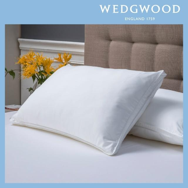 【WEDGWOOD】超細纖維抗菌枕2入(45x75cm)