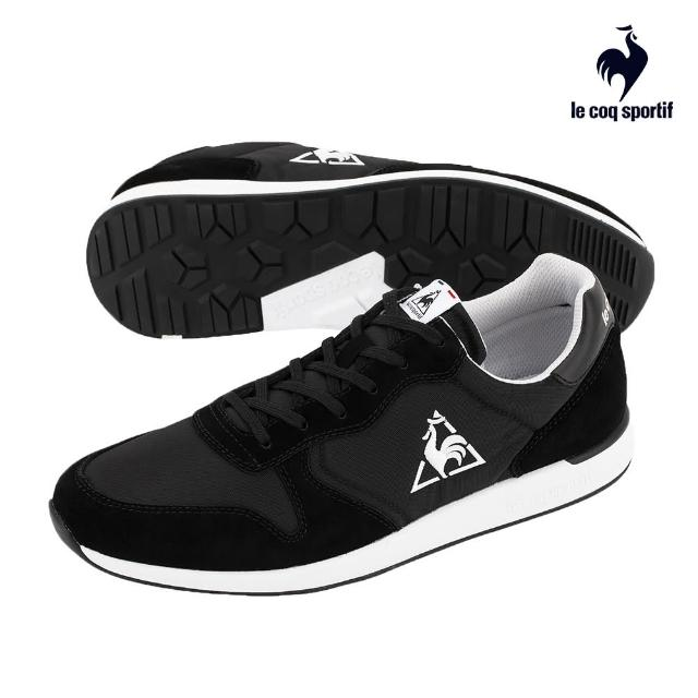 【LE COQ SPORTIF 公雞】運動鞋 休閒鞋 男/女鞋-黑-LJN7320499