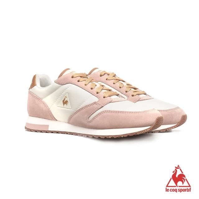 【LE COQ SPORTIF 公雞】運動鞋 休閒鞋 女鞋-粉紅-LWM7300472