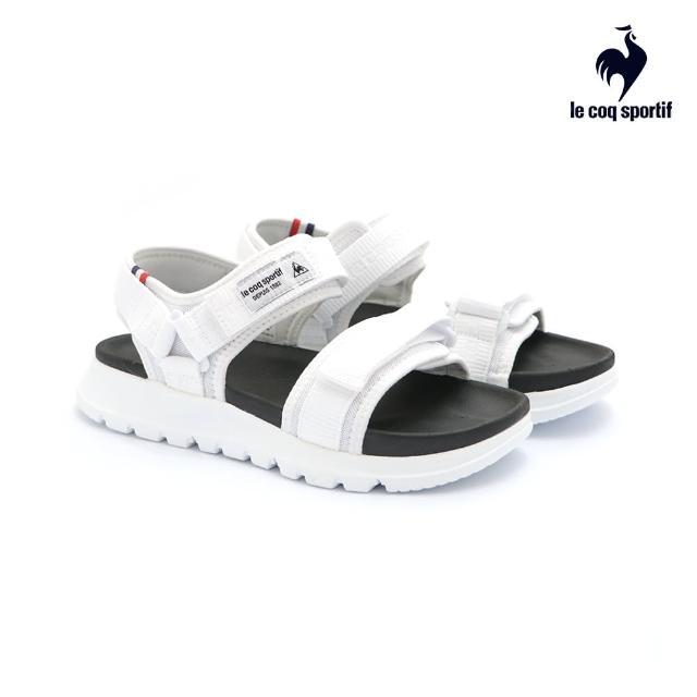 【LE COQ SPORTIF 公雞】涼鞋 休閒鞋 男/女鞋-白-LKN7321090