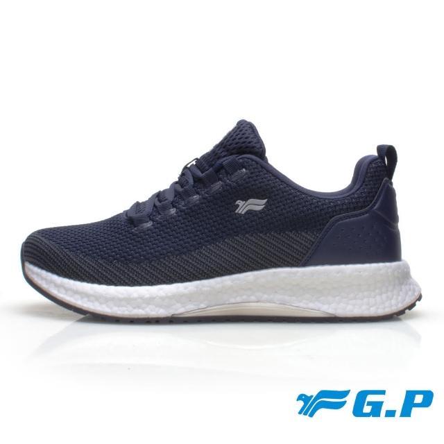 【G.P】男款 超輕彈力球運動休閒鞋P6945M-藍色(SIZE:39-44 共二色)